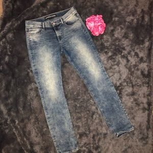 Express Skinny Performance Stretch Jeans - Size 10